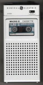 Cassette Recorder, Front