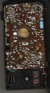 Cassette Recorder, Inside (I removed the back cover)