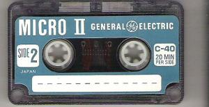 Micro II Cassette, kind of hard to find
